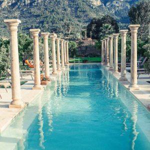 finca hotel cas sant mallorca piscina